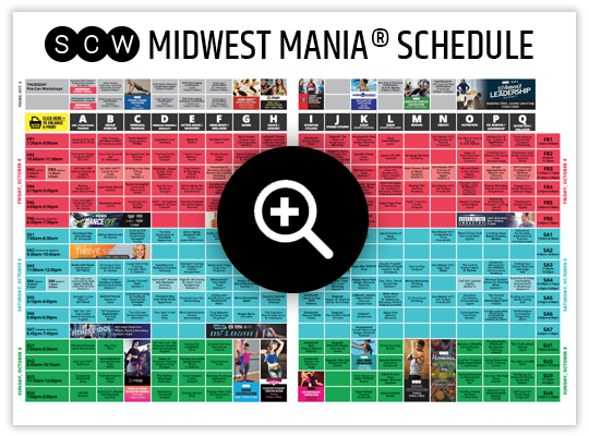 Midwest MANIA® Schedule