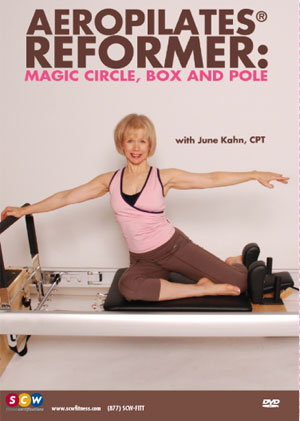 Aeropilates Reformer Magic Circle Box Pole