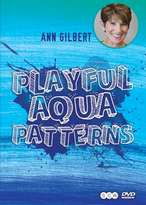 Playful Aqua Patterns