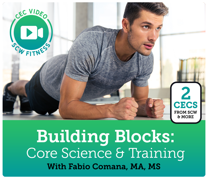 Cec Video Course Building Blocks Core Science Training Scw