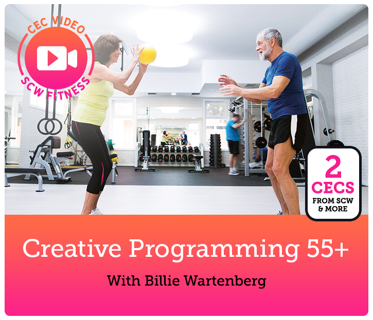 Cec Video Course Creative Programming 55 Scw Fitness Education