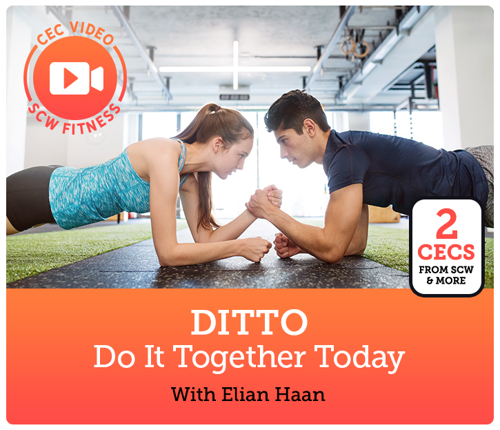 Cec Video Course Ditto Do It Together Today Scw Fitness