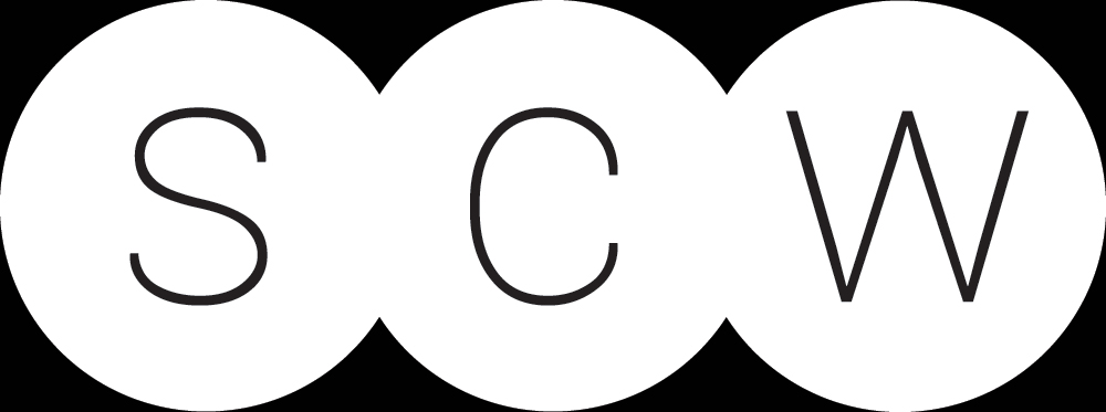 SCW Logo White