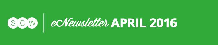 SCW eNewsletter: April 2016