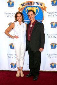 Sara Kooperman with Dr. Len Kravitz.