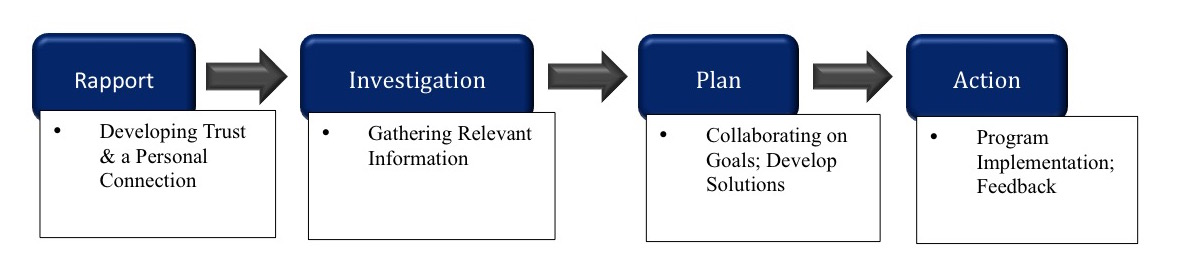 Figure 1 – Key responsibilities to successful professional relationships.