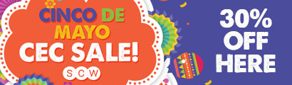 SCW Cinco de Mayo Sale - Code Inside!