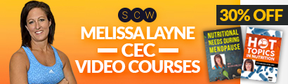 30% OFF Melissa Layne CEC Videos - by SCW