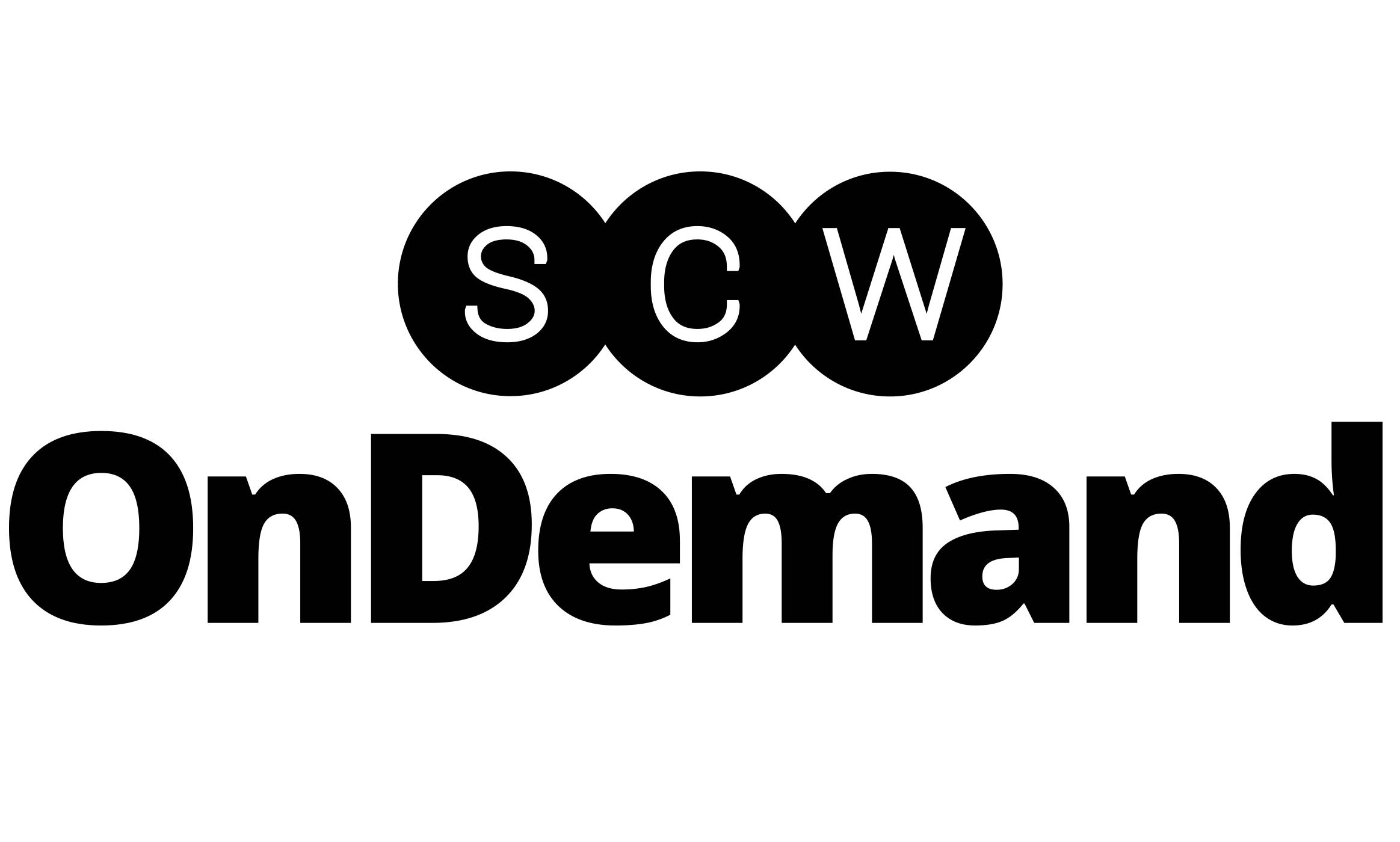 SCW Logo Black
