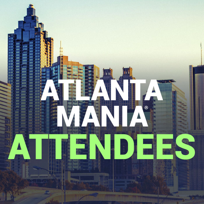 Atlanta MANIA® attendees