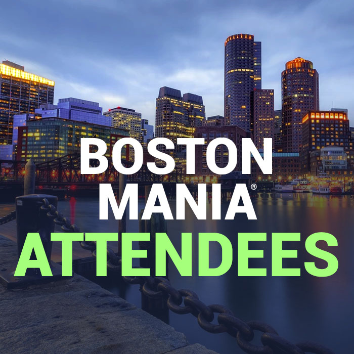 Boston MANIA® attendees