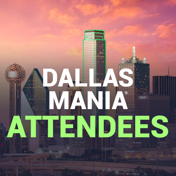 Dallas MANIA® attendees