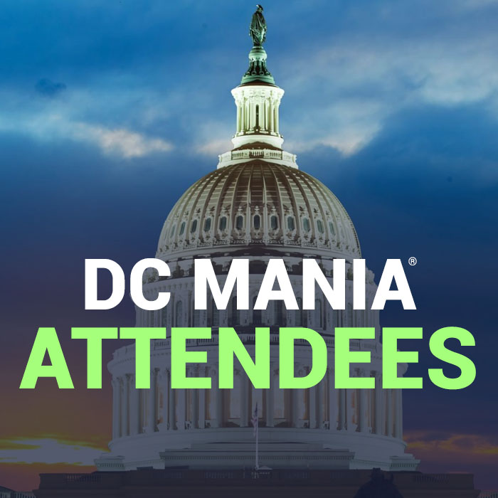 DC MANIA® attendees