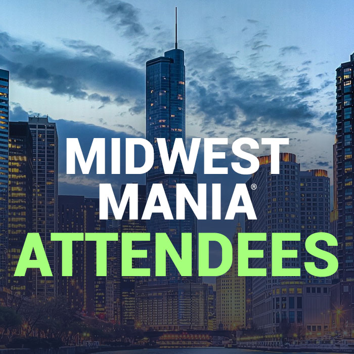 Midwest MANIA® attendees