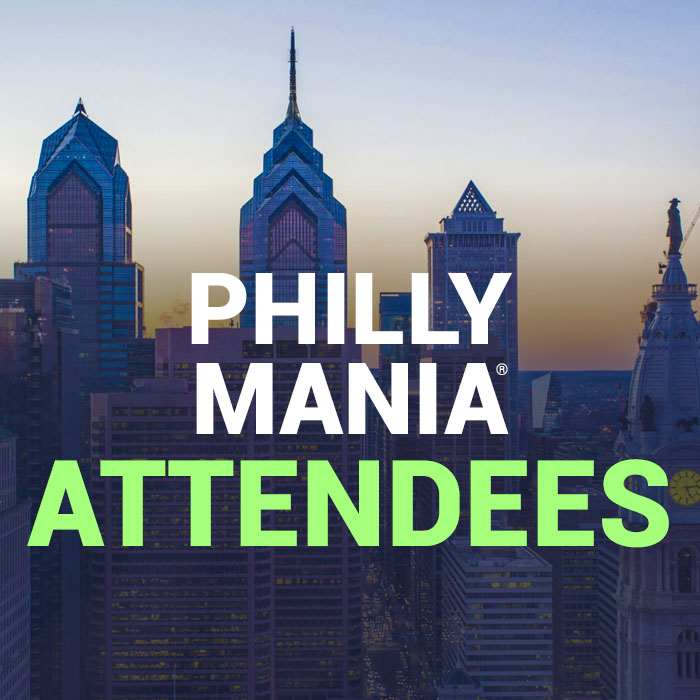 Philly MANIA® attendees