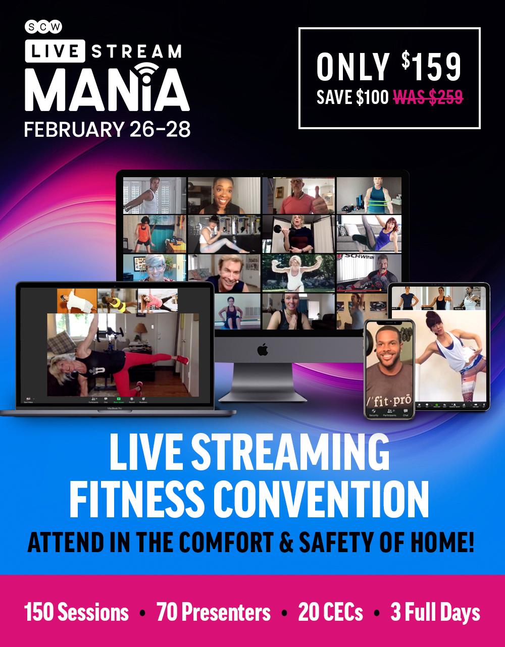 Live Stream MANIA November